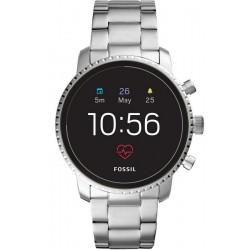 Orologio da Uomo Fossil Q Explorist HR FTW4011 Smartwatch