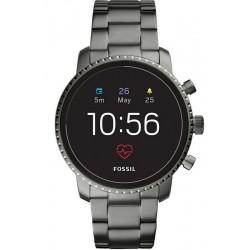 Orologio da Uomo Fossil Q Explorist HR FTW4012 Smartwatch