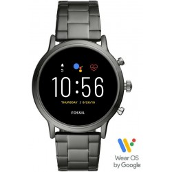 Orologio da Uomo Fossil Q The Carlyle HR Smartwatch FTW4024