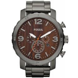 Orologio da Uomo Fossil Nate JR1355 Cronografo Quartz
