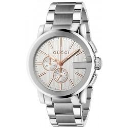 Orologio Gucci Uomo G-Chrono XL YA101201 Cronografo Quartz