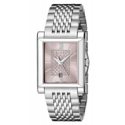 Comprare Orologio Gucci Donna G-Timeless Rectangular Small YA138502 Quartz