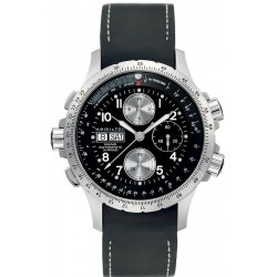Orologio Hamilton Uomo Khaki Aviation X-Wind Auto Chrono H77616333