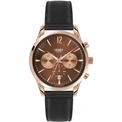 Orologio Henry London Uomo Harrow HL39-CS-0054 Cronografo Quartz