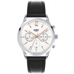 Orologio Henry London Uomo Highgate HL41-CS-0011 Cronografo Quartz
