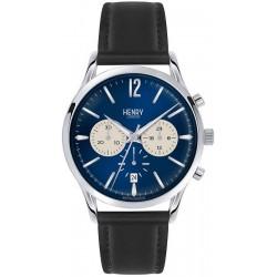 Orologio Henry London Uomo Knightsbridge HL41-CS-0039 Cronografo Quartz