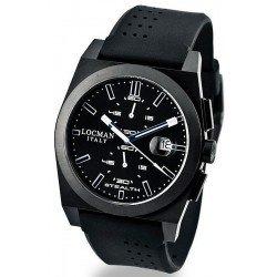 Orologio Locman Uomo Stealth Cronografo Quartz 0202BKBKFWB1GOK
