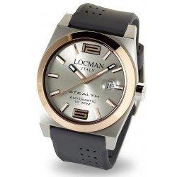 Orologio Locman Uomo Stealth Automatico 02050RGYF5N0SIA