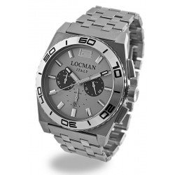 Orologio Locman Uomo Stealth Cronografo Quartz 021200AK-AGKBR0