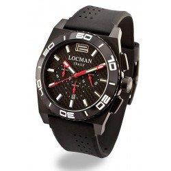 Orologio Locman Uomo Stealth Cronografo Quartz 0212BKKA-CBKSIK