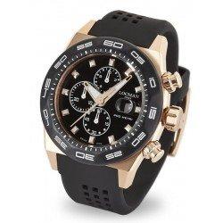 Orologio Locman Uomo Stealth 300MT Cronografo Quartz 0217V5-RKBK5NS2K