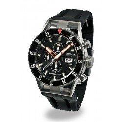 Orologio Locman Uomo Montecristo Professional Diver Cronografo 051200KOBKNKSIK