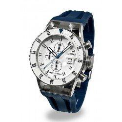 Orologio Locman Uomo Montecristo Professional Diver Cronografo 051200WBWHNKSIB