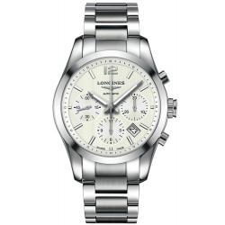 Comprare Orologio Longines Uomo Conquest Classic Cronografo Automatico L27864766