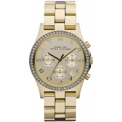 Comprare Orologio Donna Marc Jacobs Henry MBM3105 Cronografo
