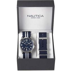Orologio Nautica Uomo NCC 01 Date Box Set NAI11509G