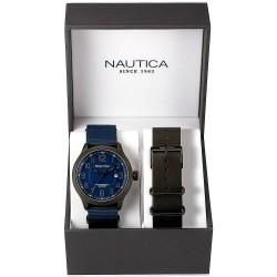 Orologio Nautica Uomo NCC 01 Date Box Set NAI14519G