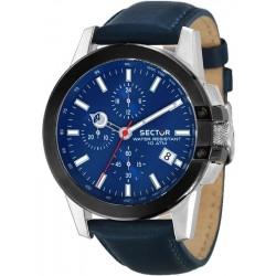 Orologio Sector Uomo 480 R3271797005 Cronografo Quartz