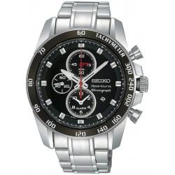 Orologio Seiko Uomo Sportura Alarm Chronograph Quartz SNAE69P1