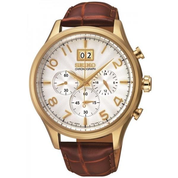 Comprare Orologio Seiko Uomo SPC088P1 Cronografo Quartz