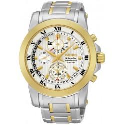 Comprare Orologio Seiko Uomo Premier Chronograph Perpetual Calendar Alarm SPC162P1