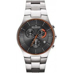 Comprare Orologio Skagen Uomo Balder Titanium SKW6076 Cronografo
