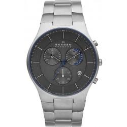 Comprare Orologio Skagen Uomo Balder Titanium Cronografo SKW6077
