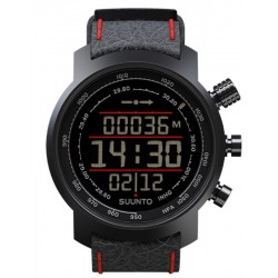 Orologio Uomo Suunto Elementum Terra Black / Red Leather SS019171000