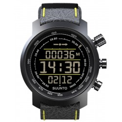 Comprare Orologio Uomo Suunto Elementum Terra Black / Yellow Leather SS019997000