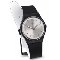 Orologio Swatch Unisex Gent Silver Friend Too GB287