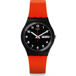 Orologio Swatch Unisex Gent Red Grin GB754