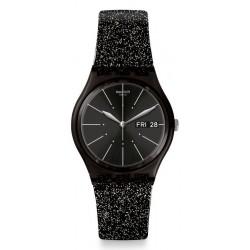 Orologio Swatch Donna Gent Glitternoir GB755