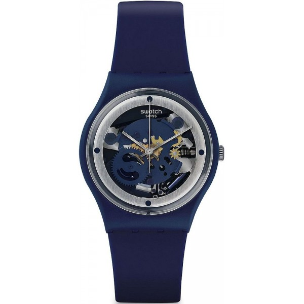Comprare Orologio Swatch Unisex Gent Squelette Blue GN245
