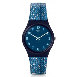 Orologio Swatch Donna Gent Trico'Blue GN259