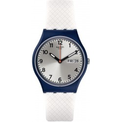 Orologio Swatch Unisex Gent White Delight GN720