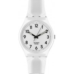 Orologio Swatch Unisex Gent Just White GW151