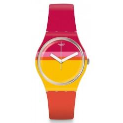 Orologio Swatch Donna Gent Roug'Heure GW198