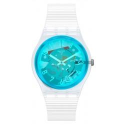 Orologio Swatch Unisex Gent Retro-Bianco GW215