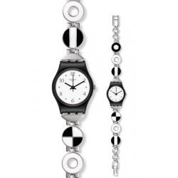 Orologio Swatch Donna Lady Blackiniere LB185G