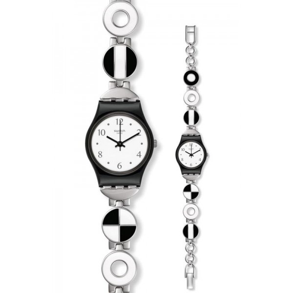 Comprare Orologio Swatch Donna Lady Blackiniere LB185G