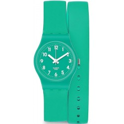 Orologio Swatch Donna Lady Mint Leave LL115