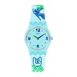Orologio Swatch Donna Lady #Greentouche LN157