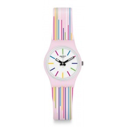 Orologio Swatch Donna Lady Pink Mixing LP155