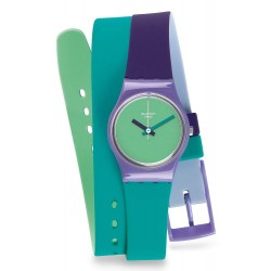 Orologio Swatch Donna Lady Fun In Blue LV117
