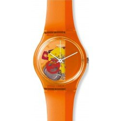 Orologio Swatch Unisex Gent Bloody Orange GO116