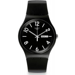 Orologio Swatch Unisex New Gent Backup Black SUOB715