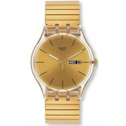 Orologio Swatch Unisex New Gent Dazzling Light L SUOK702A