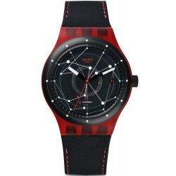Orologio Swatch Unisex Sistem 51 Sistem Red SUTR400 Automatico