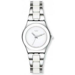 Orologio Swatch Donna Irony Medium Tresor Blanc YLS141GC