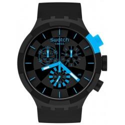 Comprare Orologio Swatch Big Bold Chrono Checkpoint Blue SB02B401